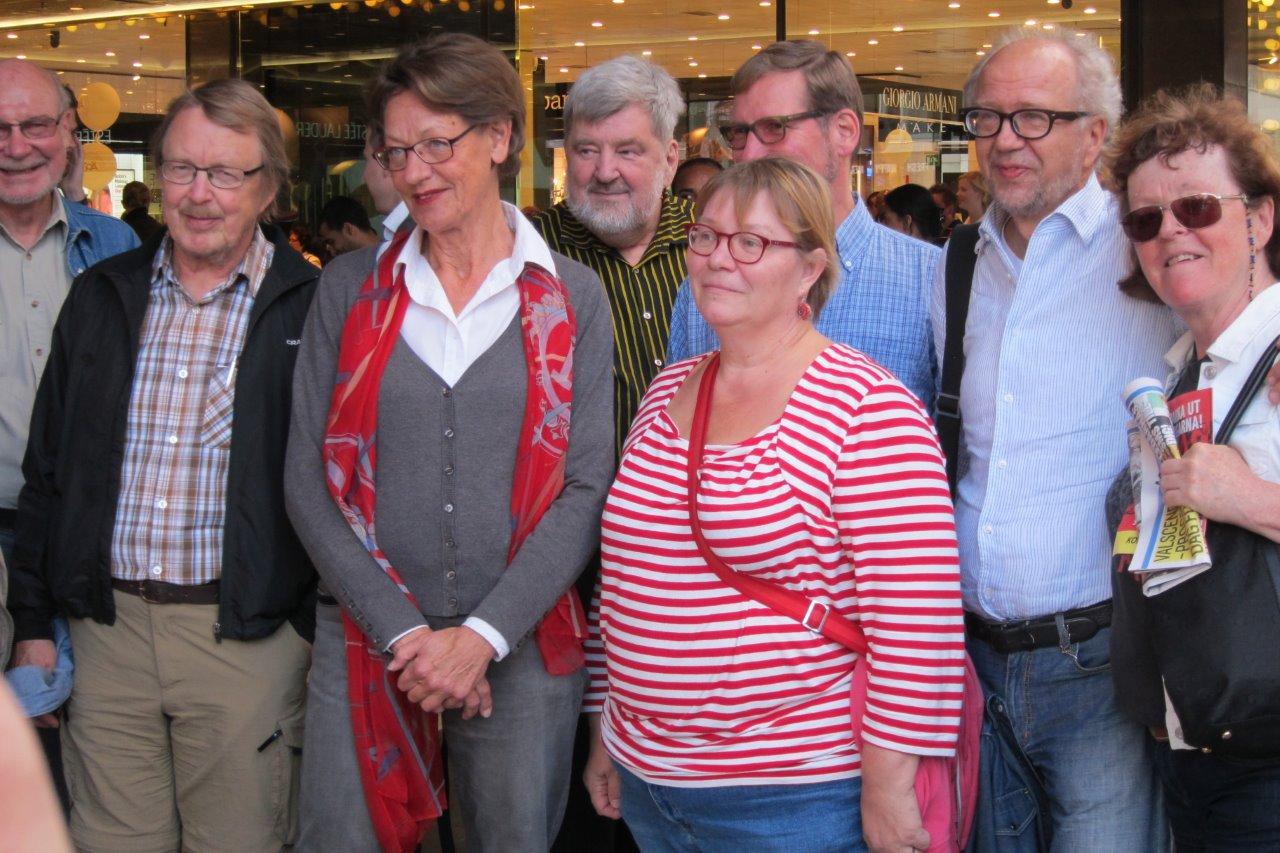 Vaalien alla Tukholmassa