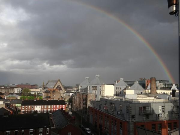 Sateenkaari Dublinissa